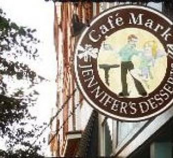 Cafe Mark & Jennifer's Desserts signage Photo