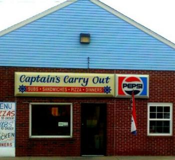 Captain's Carry-Out, exterior Photo