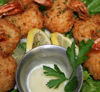 Shrimp platter Photo