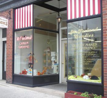 Storefront of McFarland's Candies Photo
