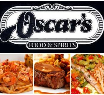 Oscar's logo and food photo Photo