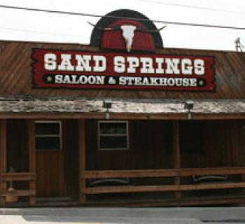 Sand Springs Saloon & Steakhouse exterior view Photo