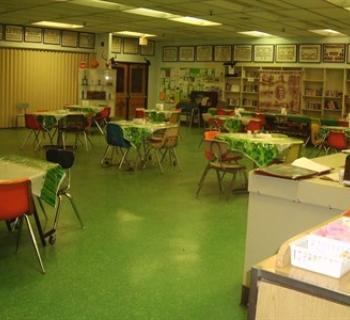 Schoolhouse Kitchen interior view Photo