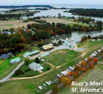 Buzz's Marina aerial view Photo
