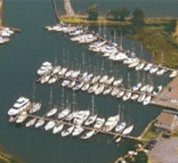Marina aerial view Photo