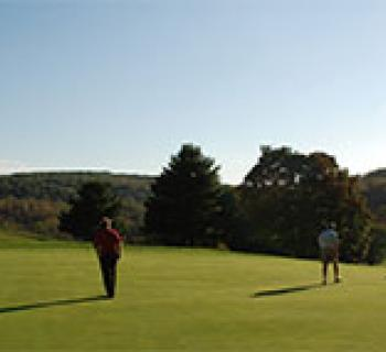 Golfers at Hunt Valley Photo