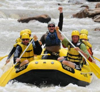 Rafting on Youghiogheny River Photo