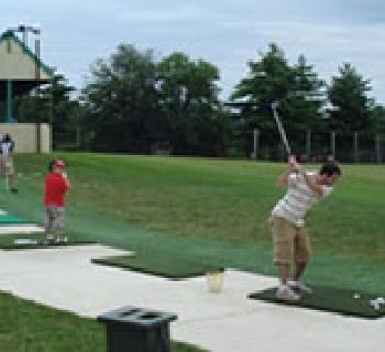 Driving Range at Mitchell's Golf Complex Photo