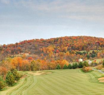 Picture of a fairway the the Musket Ridge Golf Club Photo