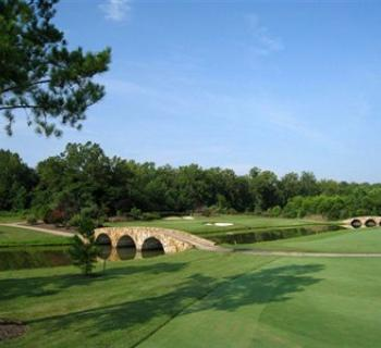 Picture of a fairway at Renditions Golf Course. Photo