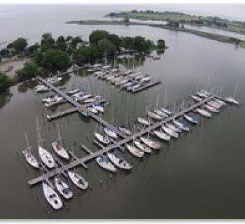Boats at Swan Creek Marina Photo