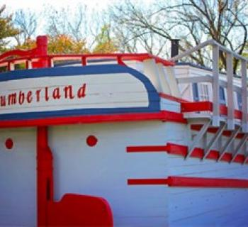 "Canal Boat Replica ""The Cumberland"" Photo"