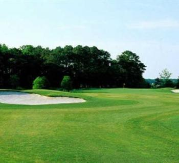 A fairway at Eagle's Landing Golf Club Photo
