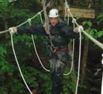 Flying Squirrel Canopy Tour Photo