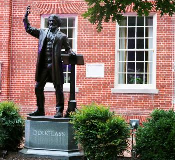 Frederick Douglass Statue outside the Talbot County Courthouse Photo