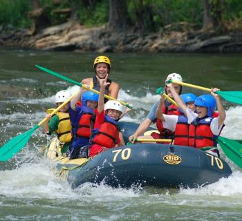 Rafting the Shenandoah and Potomac Rivers Photo