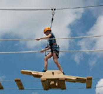 Spider Monkey Ropes Course Photo