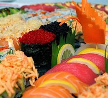Image of ikebana sushi Photo