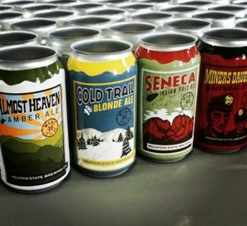 Custom made beers from Mountain State Brewing Company Photo