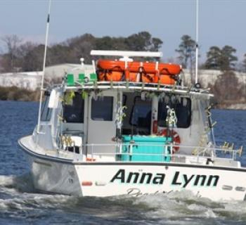 Anne Lynn II ready for a great day on the Bay Photo