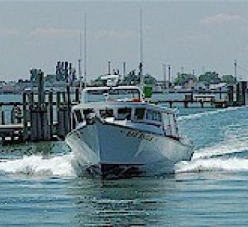 The Bay Eagle Charter Boat on the Chesapeake Bay Photo