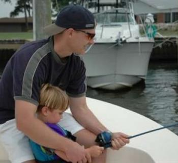 CD Outdoors introduces fishing to a young angler Photo