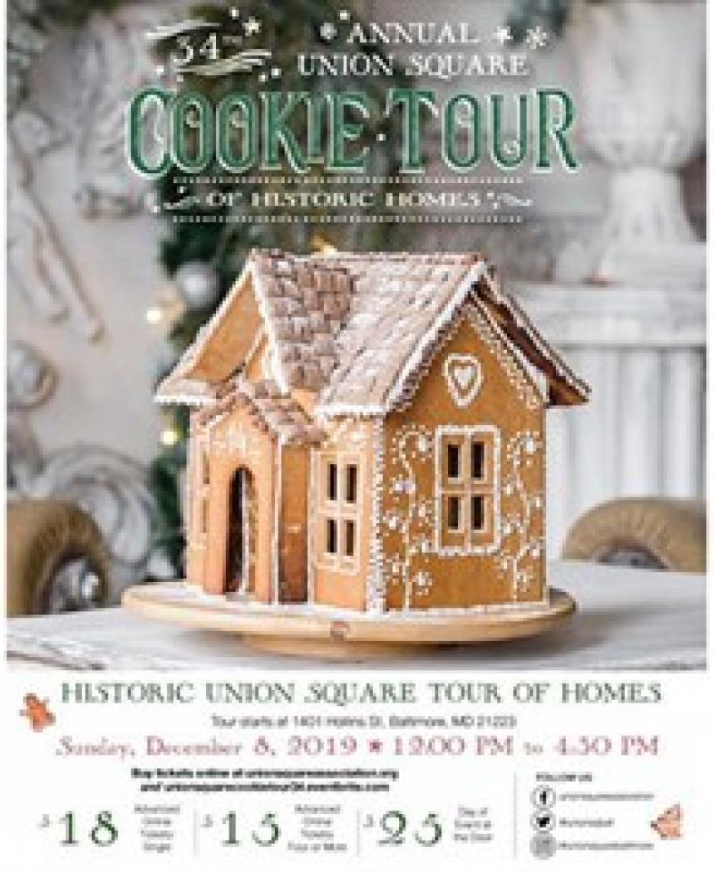 Christmas Cookie Tour Baltimore Md 2020 34th Annual Christmas Cookie Tour in Historic Union Square