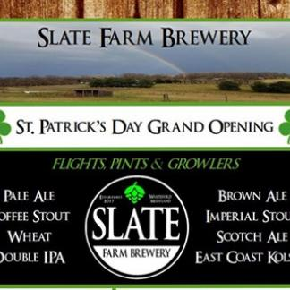 Slate Farm Brewery Grand Opening Visitmaryland Org