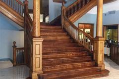 Gunter Hotel lobby staircase