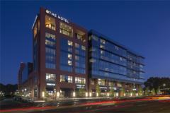 Large modern hotel