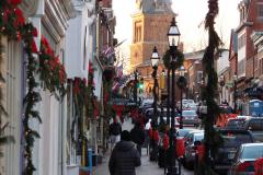 Annapolis Main Street During the Holidays