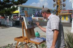 Artists Paint Ocean City