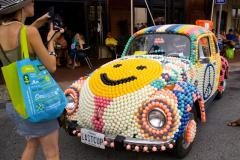 Car art pops up often at the art-tastic Artscape in Baltimore.