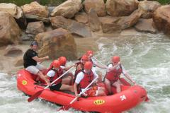 ASCI's man-made rapids offer thrilling rafting adventures.