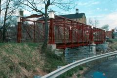 Bollman Truss Bridge in Savage