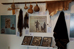 Gifts from the Nause Waiwash Indians at the Capt John Smith Nanticoke River Discovery Center