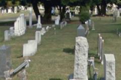 grave yard photo