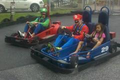 Mario and Luigi in Go Karts