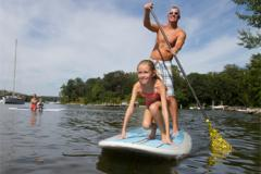 Family paddleboarding-VisitAnnapolis.org