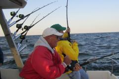 Fishing on Charter boat