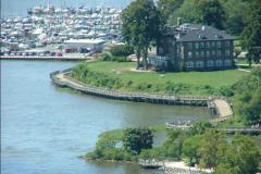 Aerial view of the Promenade, Havre de Grace