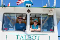 Crew of the Oxford-Bellevue Ferry