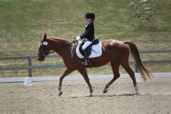 A young rider at Reddemeade Equestrian Center