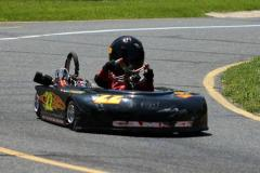 Child driving a Go Kart