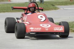 Man riding in Go Kart