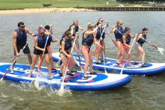 Ultimate Watersports stand up paddle board instruction