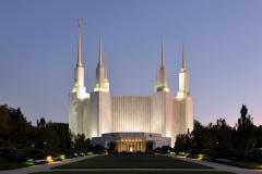 Washington, D.C. Mormon Temple in Kensington