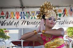 performer at World of Montgomery Festival