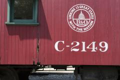Train Car at B&O Railroad Museum