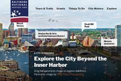 Panorama of Baltimore City